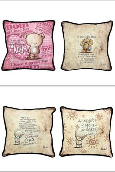www.pinkbagoly.hu Love Her, Throw Pillows, Mom, Bags, Vintage, Handbags, Toss Pillows, Taschen, Decorative Pillows