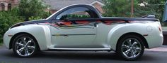 Chevy Ssr, Chevy Trucks, Chrysler Pt Cruiser, Cute Cars, Kustom, Chevrolet, Classic Cars, Automobile, Vehicles
