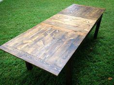 Custom Made Farmhouse Table (W/ Leaf)