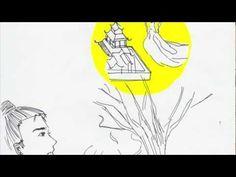 Japanese Kamishibai Jouga and gei (紙芝居)ー嫦娥奔月的故事