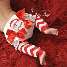 Santa Claus Diaper Cover-Diaper Cover-Christmas Clothes-Bloomers-Baby Girl Clothes-Newborn-Infant-Toddler-Christmas Outfit-Baby Diaper Cover