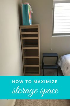 How to maximize storage space in a small bedroom