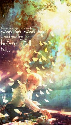BTS / Fire / Save Me / Taehyung / Wallpaper