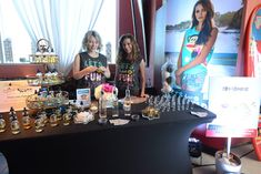 For a recent press event in Los Angeles, Paul Frank brought Starring Fragrances for a station that gave guests the chance to take home custom fragrances, made on the spot according to their individual tastes