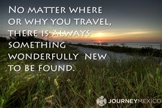 "#traveltuesday : ""No matter where or why you travel, there is always something wonderfully new to be found""  quote travel quotes #travel #quotes"