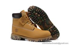 Timberland For Women's 6-Inch Premium Waterproof Wheat Black Camo Boots $ 80.00