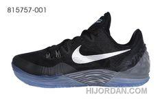 quality design dcba2 ae63f Nike Zoom Kobe Venomenon 5 Black Grey Silver Free Shipping IbdbP
