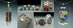 Hand Fabricated Cloisonne Jewelry