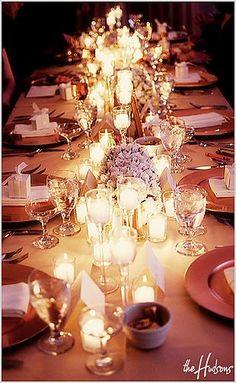 New Wedding Reception Dinner Candles 34 Ideas Long Table Reception, Wedding Table, Wedding Reception, Our Wedding, Dream Wedding, Wedding Ideas, Long Tables, Bridal Table, Reception Ideas