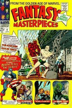 FANTASY MASTERPIECES 8, SILVER AGE, MARVEL COMICS