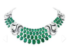 "Van Cleef & Arpels ""Lierre"" necklace - It's beginning to look a lot like Christmas...    For more Van Cleef & Arpels, visit: http://balharbourshops.com/"