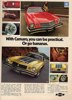 The 1974 Camaro, from A to Z28