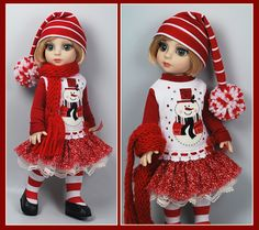 Christmas Outfit for Tonner Patsy from maggie_kate_create sold 12/11/14 for $112.50