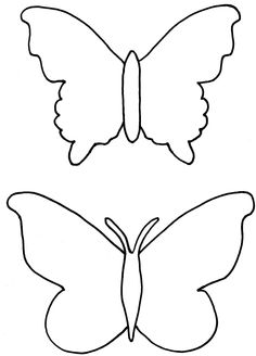 Butterfly Coloring Pages Free To Download http://freecoloring-pages.org/butterfly-coloring-pages-free-to-download/