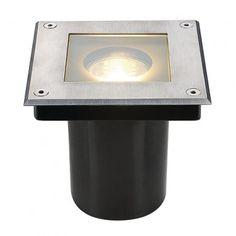 DASAR SQUARE, GU10, Bodeneinbauleuchte / LED24-LED Shop