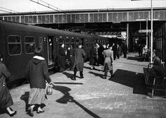 station Leiden Centraal perron