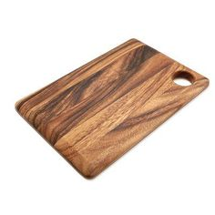 Bay Isle Home Bay Isle Home Earle Acacia Wood Rectangular Everyday Cutting Board Diy Wooden Projects, Reclaimed Wood Projects, Wooden Diy, Woodworking Tools For Sale, Woodworking Furniture, Woodworking Plans, Woodworking Kitchen Cabinets, Timeless Kitchen, Le Chef