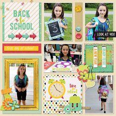 School Starts Again - Scrapbook.com