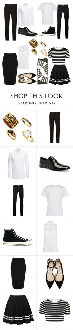 """""""Power Family 1"""" by fangirling0ver-lae ❤ liked on Polyvore featuring Dolce&Gabbana, Joseph, Calvin Klein, Diesel Black Gold, Converse, MICHAEL Michael Kors, River Island, Jimmy Choo and Topshop"""