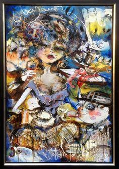 """Bonjour"" Olieverf op doek Fairy, Fantasy, Guys, Painting, Inspiration, Bonjour, Biblical Inspiration, Imagination, Paintings"