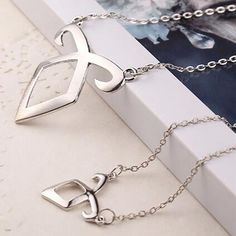 Movie Film Jewelry City of Bones Necklace Angelic Forces Collar The Mortal Instruments Angelic Power Runes Pendant Angels force