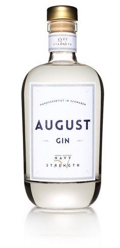 August Gin Navy Strength 57% 0,7l kaufen | ginpalace.de