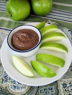Nutella Greek Yogurt Dip Makes Approx. 1/2 cup Ingredients: 1/2 cup vanilla Greek yogurt (Chobani) 2 tablespoons Nutella 1/4 teaspoon cinnamon Directions: Combine all ingredients well in a bowl. Serve with fruit slices such as apples, bananas, strawberries, etc…