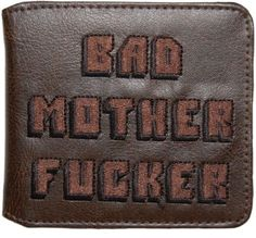 Un portefeuille «Bad Mother Fucker», comme dans Pulp Fiction | Topito
