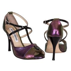 Women tango shoes made in Italy