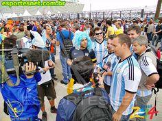 Copa do Mundo 2014 Holanda X Argentina Estádio do Corinthians 09 de Julho de 2014