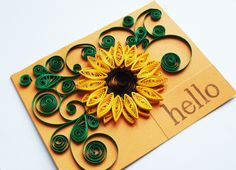 I love paper quilling! It's so much fun and the results are beautiful! Take … I love paper quilling! Neli Quilling, Paper Quilling Cards, Paper Quilling Flowers, Paper Quilling Patterns, Origami And Quilling, Quilled Paper Art, Quilling Paper Craft, Paper Crafts Origami, Quiling Paper