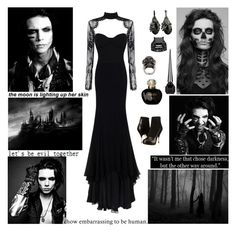"""""""✖ Gonna get your body shakin' wishin' you could just awaken. Here we go. Tonight all the monsters gonna dance. We're comin' to get ya! If you're only dreaming why I hear you screaming? Callin' all the monsters. ✖"""" by blueknight ❤ liked on Polyvore featuring Jason Wu, Vivienne Westwood, Alexander McQueen, Christian Louboutin and Christian Dior"""