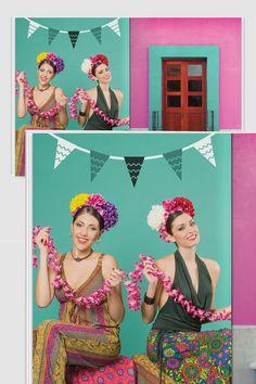 Interno #2 Brochure Spring Summer 2016 , Stile Frida Khalo , Baba Design Spring Summer 2016, Design, Frida Khalo, Design Comics