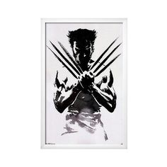 Art.com Wolverine One Sheet Movie Framed Poster, Pink ($180) ❤ liked on Polyvore featuring home, home decor, wall art, pink, pink poster, home wall decor, pink flamingos poster and framed wall art