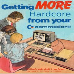 "Check out ""Live Mini DJSet HaRdCoRe with 2 commodore64 and 1 mixer (8-bit-Mix Hardcore Happy Hardcore )"" by ISItheDreaMakeR 8*Bit*Mix on Mixcloud#edm #hardcore #chiptune"