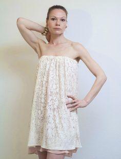 """Kleid """"Roma"""" Sommerkleid, Festliche Kleider Weiß von rote-tulpe auf DaWanda.com"""