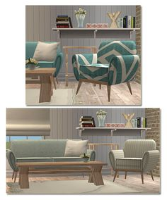 SnarkyShark Eflin recolors!     A few pictures of the couch (which is the master mesh)    Close-up view to show texture.    I also made a recolor of Anye Ennes coffee table and Tinhouse's