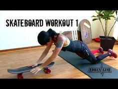 Skateboard Workout 1 - Think Outside of the BOX! - YouTube