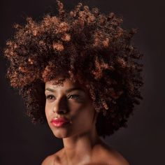 See this Instagram photo by @stefaniefsteel • curly fro. Natural hair. Afro hair. Kinky Curly hair. Natural hair colored.