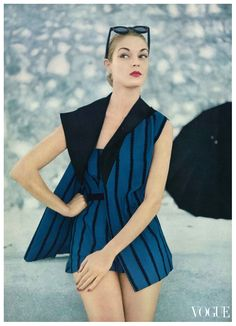 Jean Patchett in Vogue, 1951
