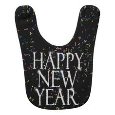 Sparkling Happy New Year Bib #newyearscelebration #Gravityx9