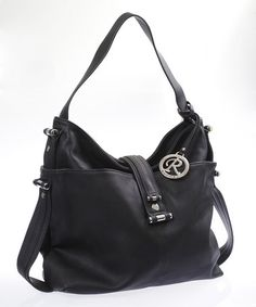 Take a look at this Black Slouchy Tote by Blow-Out on #zulily today!