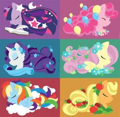 MLP - FiM cast in my pudgy pony style. Dessin My Little Pony, Little Pony Party, Mlp My Little Pony, My Little Pony Friendship, Mlp Twilight, Twilight Sparkle, Rainbow Dash, Imagenes My Little Pony, Little Poni