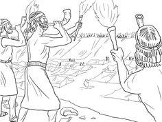 Hezekiah Praying to God coloring page from King Hezekiah