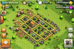 Contoh Base Clash Of Clans Untuk Townhall Level 6 Full Defense Contoh Base Clash Of Clans Untuk Townhall Level 6 Full Defense #ClashOfClans #COC #base #townhall #level6