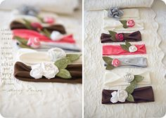 adorable headbands. must figure out how to make.