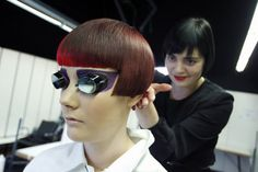 Retro glam for the 2013 Haute Couture trend DECIBEL   #hair #beauty