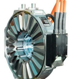 Electric motors fit for racing cars