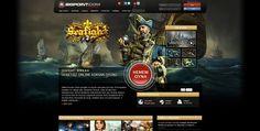 Önce Seafight sitesine giriyorum, en sevdigim oyunlardan bir tanesi! http://tr.bigpoint.com/oyunlar/aksiyon/ Buradan bulabilirsiniz.