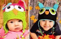 GroopDealz | Adorable Crochet Owl Hats